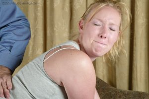Real Spankings - Brooke Tries To Go Out When She Is Grounded - image 4