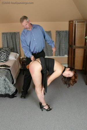 Real Spankings - Spanked Before Going To A Party - image 17