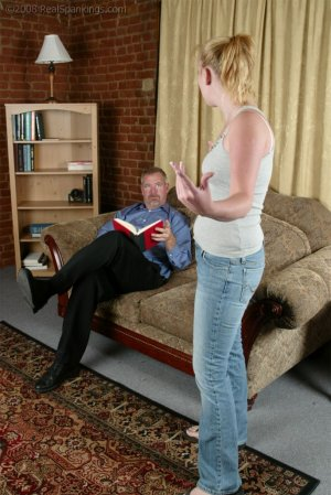 Real Spankings - Brooke Tries To Go Out When She Is Grounded - image 14