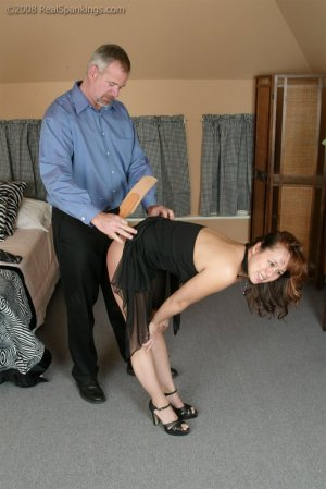 Real Spankings - Spanked Before Going To A Party - image 10