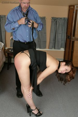 Real Spankings - Spanked Before Going To A Party - image 13