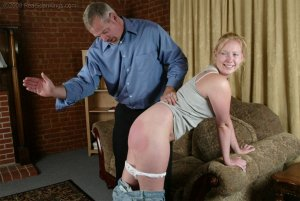 Real Spankings - Brooke Tries To Go Out When She Is Grounded - image 15