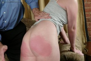 Real Spankings - Brooke Tries To Go Out When She Is Grounded - image 5