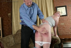 Real Spankings - Brooke Tries To Go Out When She Is Grounded - image 17