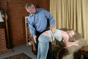 Real Spankings - Brooke Tries To Go Out When She Is Grounded - image 13
