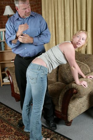 Real Spankings - Brooke Tries To Go Out When She Is Grounded - image 8