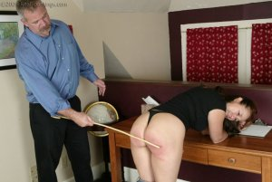 Real Spankings - Cindy Forgets An Important Phone Call - image 17