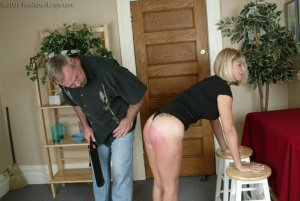 Real Spankings - Ms. Burns Is Strapped For Not Following Instructions - image 8