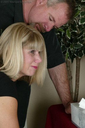 Real Spankings - Ms. Burns Is Strapped For Not Following Instructions - image 11