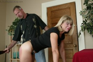 Real Spankings - Ms. Burns Is Strapped For Not Following Instructions - image 13