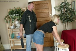 Real Spankings - Ms. Burns Is Strapped For Not Following Instructions - image 12