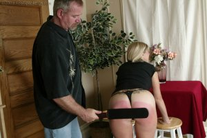 Real Spankings - Ms. Burns Is Strapped For Not Following Instructions - image 6