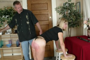 Real Spankings - Ms. Burns Is Strapped For Not Following Instructions - image 15