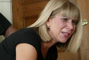 Real Spankings - Ms. Burns Is Strapped For Not Following Instructions - image 17