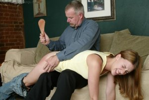 Real Spankings - Monica Lies About A Dent In The Car - image 15