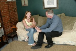 Real Spankings - Monica Lies About A Dent In The Car - image 11