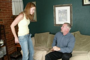 Real Spankings - Monica Lies About A Dent In The Car - image 13