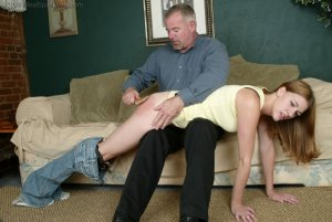 Real Spankings - Monica Lies About A Dent In The Car - image 2