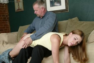 Real Spankings - Monica Lies About A Dent In The Car - image 12