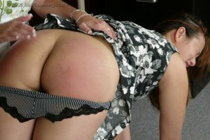 Real Spankings - Cindy Gets A Little Help From Ms. Burns - image 11