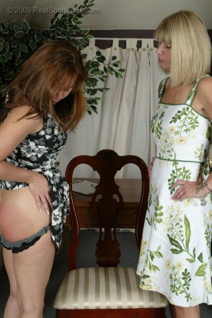 Real Spankings - Cindy Gets A Little Help From Ms. Burns - image 4