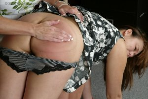 Real Spankings - Cindy Gets A Little Help From Ms. Burns - image 15