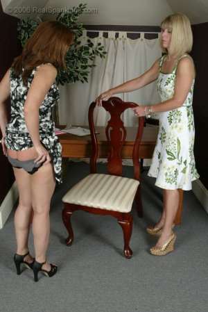 Real Spankings - Cindy Gets A Little Help From Ms. Burns - image 17