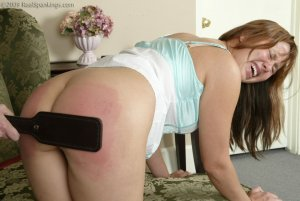 Real Spankings - Cindy Watches Ms. Burns House - image 5