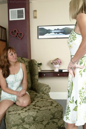 Real Spankings - Cindy Watches Ms. Burns House - image 12