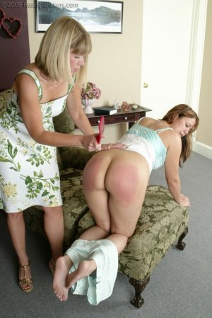 Real Spankings - Cindy Watches Ms. Burns House - image 16