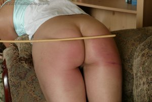 Real Spankings - Cindy's Living Room Caning - image 9