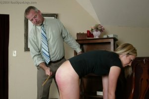 Real Spankings - Bare School Strokes: Riley - image 17