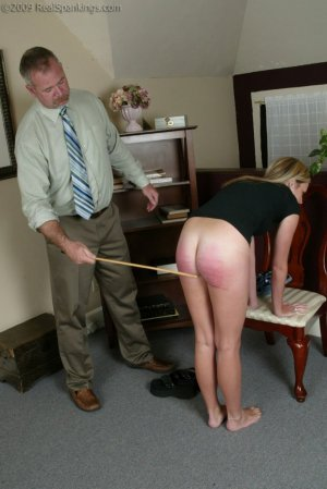 Real Spankings - Bare School Strokes: Riley - image 14