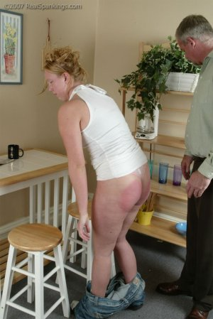 Real Spankings - Brooke Forgets To Call - image 2