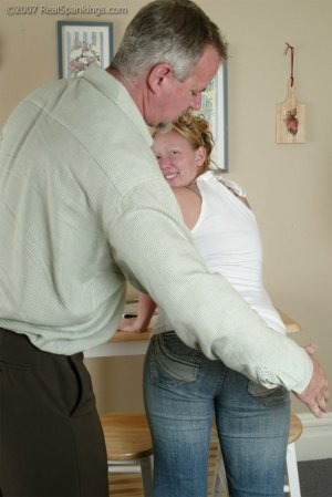 Real Spankings - Brooke Forgets To Call - image 9