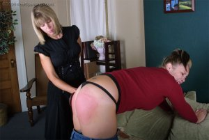 Real Spankings - Isabel's Credit Card Charges - image 7
