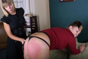 Real Spankings - Isabel's Credit Card Charges - image 4