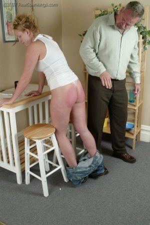 Real Spankings - Brooke Forgets To Call - image 7