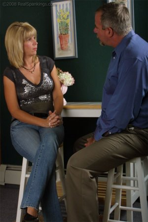 Real Spankings - Ms. Burns Forgets To Lock The House - image 17