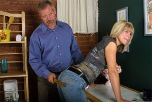 Real Spankings - Ms. Burns Forgets To Lock The House - image 9