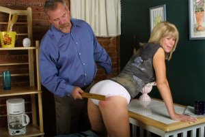 Real Spankings - Ms. Burns Forgets To Lock The House - image 8