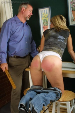 Real Spankings - Ms. Burns Forgets To Lock The House - image 16