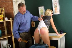 Real Spankings - Ms. Burns Forgets To Lock The House - image 14