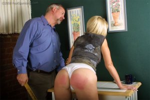 Real Spankings - Ms. Burns Forgets To Lock The House - image 15