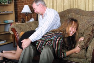 Real Spankings - A Lie Gets Cindy Spanked - image 6