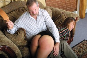 Real Spankings - A Lie Gets Cindy Spanked - image 2
