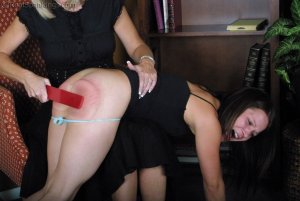 Real Spankings - Claire And Monica's Birthday Spankings - Part 1 - image 9