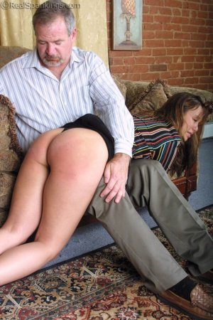 Real Spankings - A Lie Gets Cindy Spanked - image 16