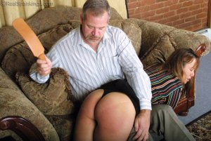 Real Spankings - A Lie Gets Cindy Spanked - image 14