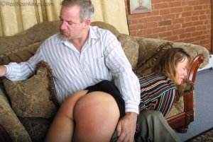 Real Spankings - A Lie Gets Cindy Spanked - image 18